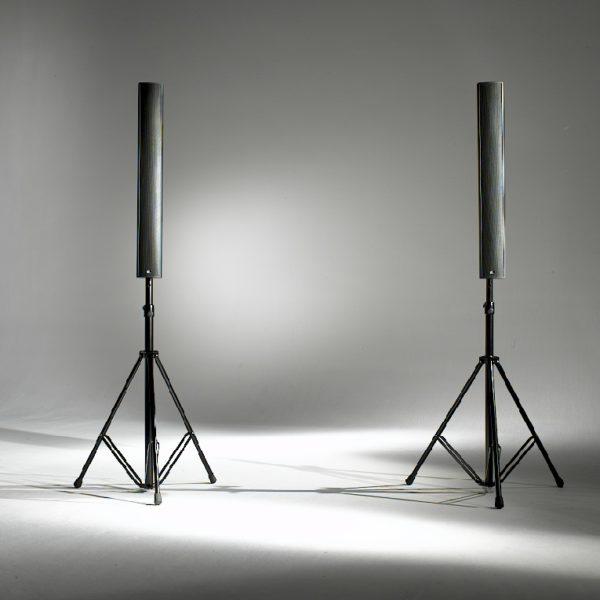 Fohhn LX-100 Lautsprecher mit Stativ
