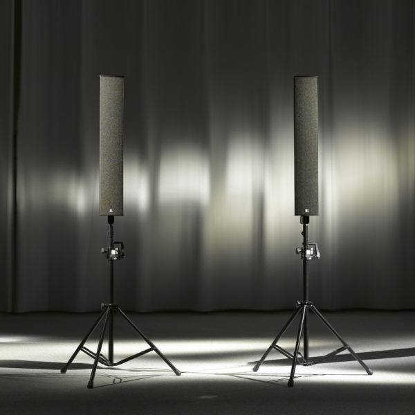 Fohhn LX-501 Lautsprecher mit Stativ