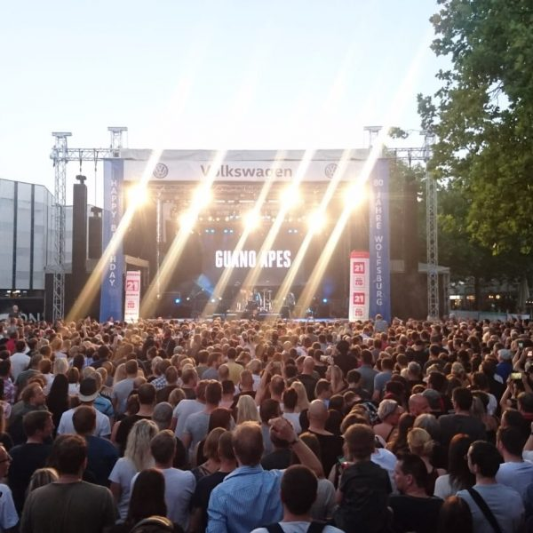 Rock im Allerpark 2019, Guano Apes