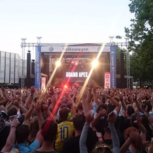 Rock im Allerpark 2019, Guano Apes