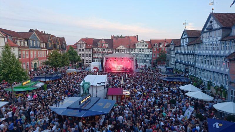 Altstadtfest Wolfenbüttel, Hauptbühne am Stadtmarkt