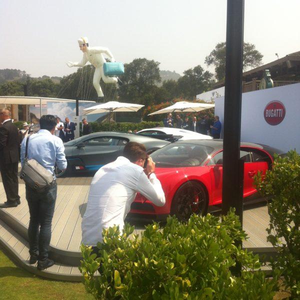 Fohhn Lautsprecher bei der Sportwagen-Präsentation auf der Monterey Car Week