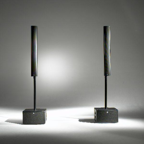 Fohhn LX-100 Lautsprecher mit Fohhn XS-20 Basslautsprecher