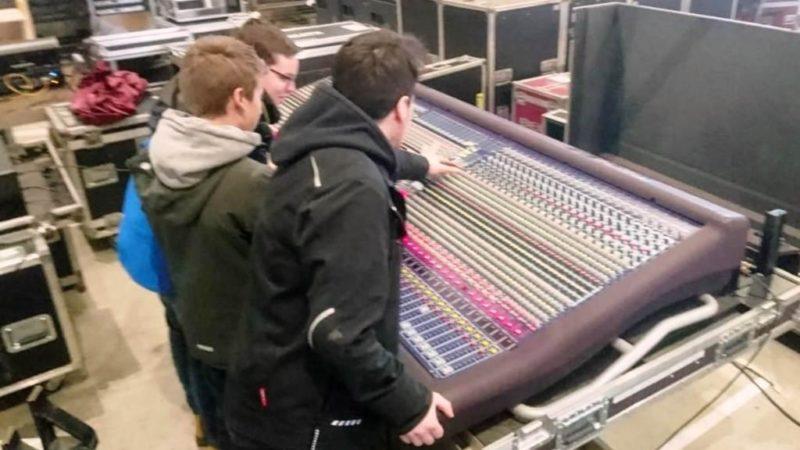 Ausbildungseinheit Tontechnik